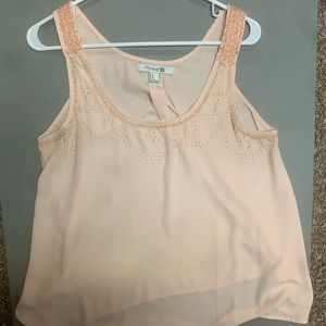 Forever 21 Tank Top (Medium/Like New)